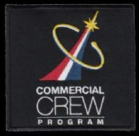 "NASA Commercial Crew Program Embroidered Patch 4"" x 4"""